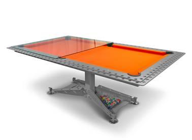billard-biljart-modern-decotech-drap-tapis-laken-orange-oranje