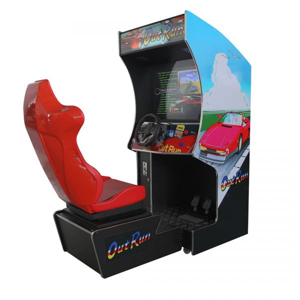 Arcade racing-machine met stoel (3)
